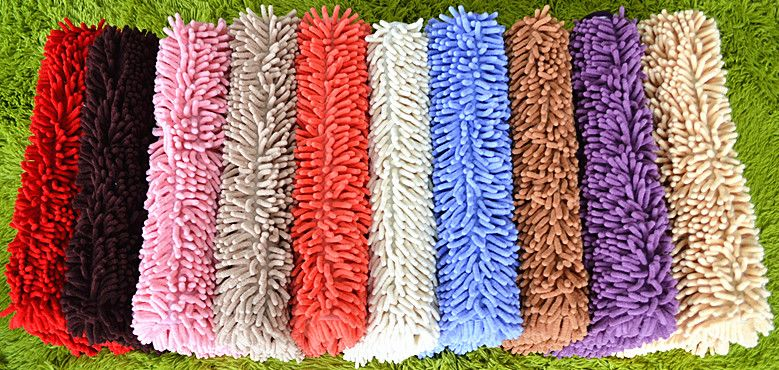 SGS Tufted Chenille Polyester Customized Area Rugs