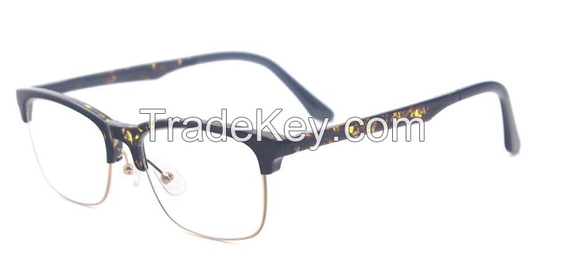 Vintage Half-rim New Model Eyeglasses Frame and Eyewear