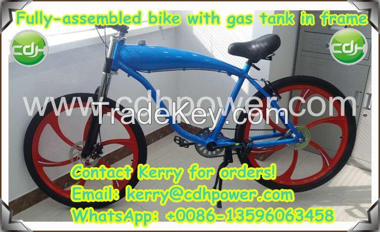 gas tank framed, Mag. wheeled motorized bicycle