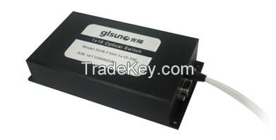 GLSUN 1xN Multi-channel Rotary Optical Switch