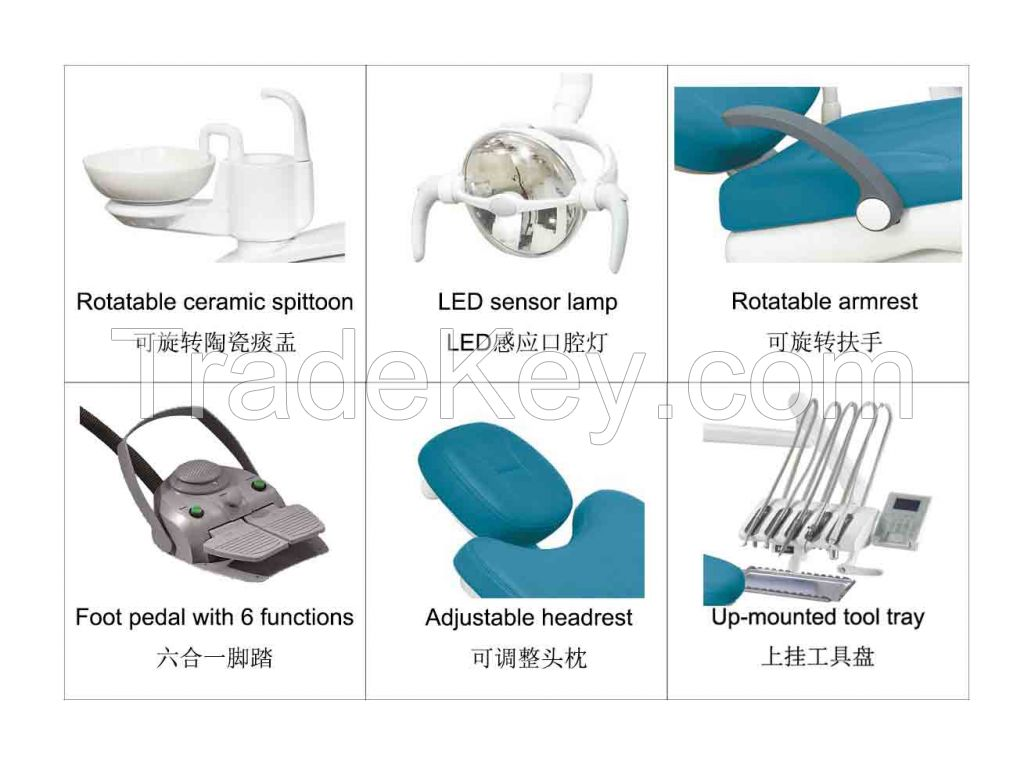 CE Marked Foshan High Quality Dental Unit VIC-V3