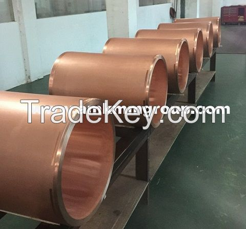 Copper mould tube, mold tube