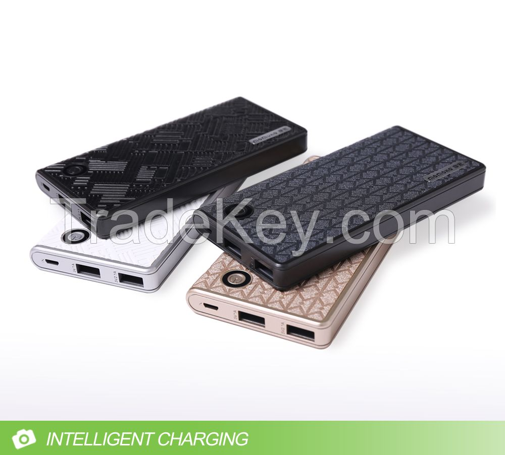 2016 hot new portable power bank fast charging for smart phone