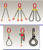 chain,chain sling and wire rope sling