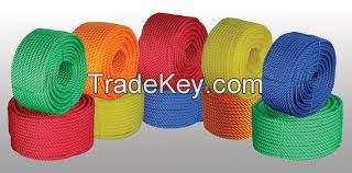 PP Ropes , HDPE Ropes , PE Ropes and Dunline Ropes.