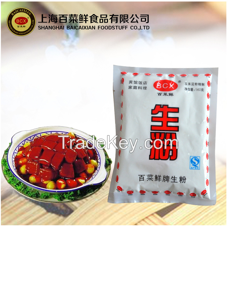 Corn starch corn flour of high quality offered by China factory BaiCaiXian brand