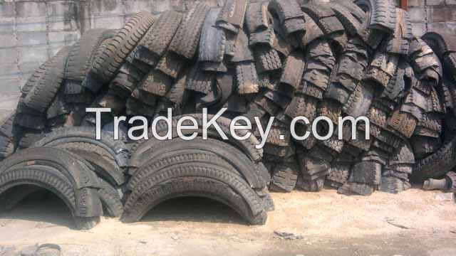 used inner tube, used tire, rubber scrap
