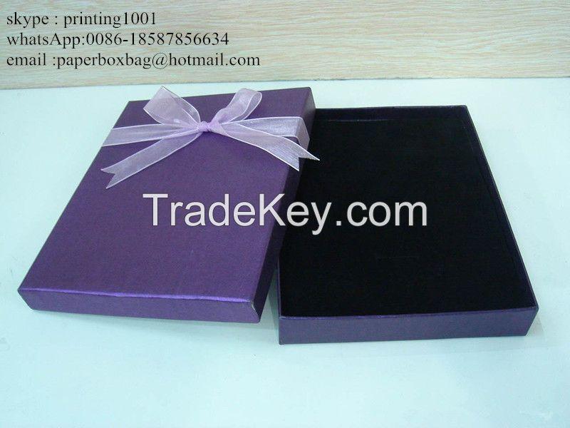 art paper Material and Handmade Feature garments cardboard pack box
