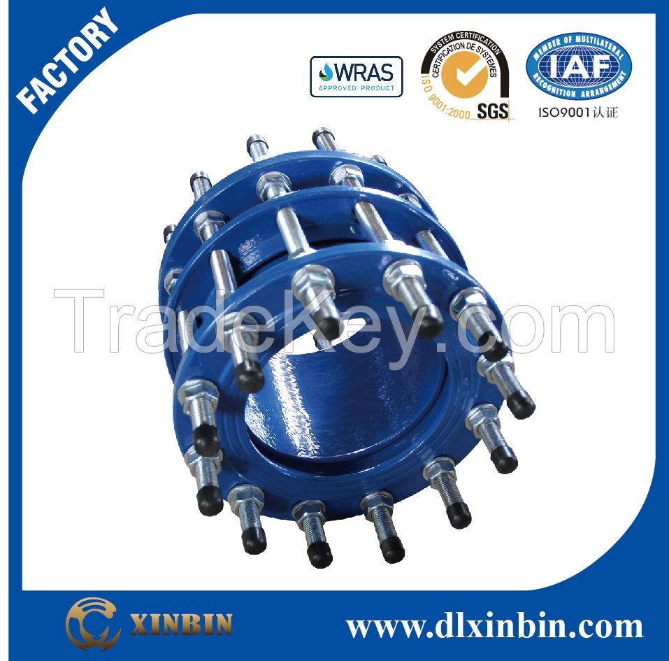 High quality dismantling joints for DI pipes