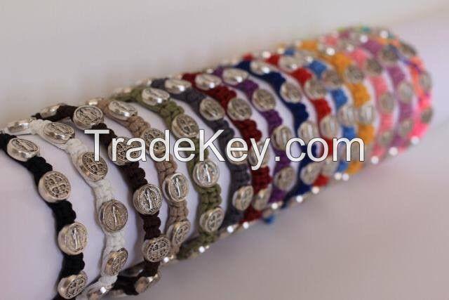Hand Made St.Benedict Bracelets.