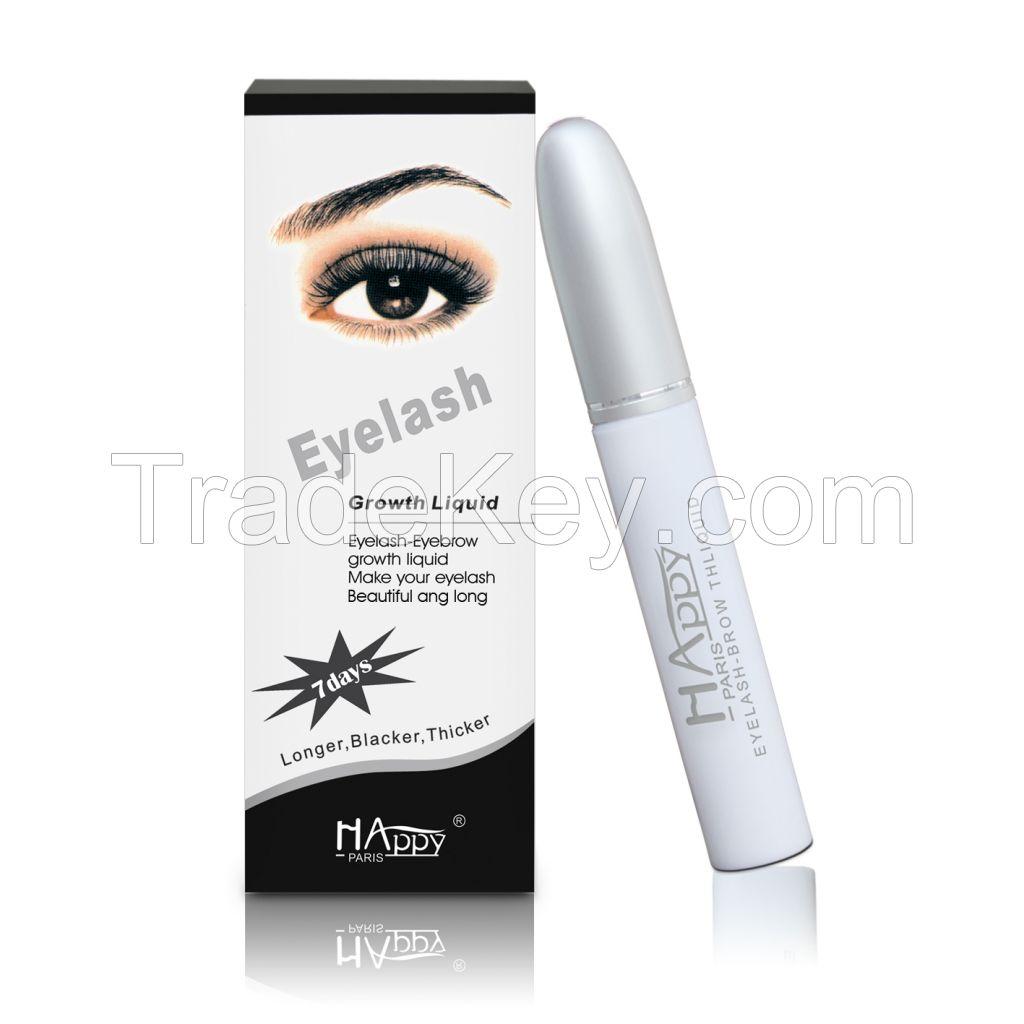 Best Selling Happy Paris Natural Eyelash growth liquid Eyelash Enhancer