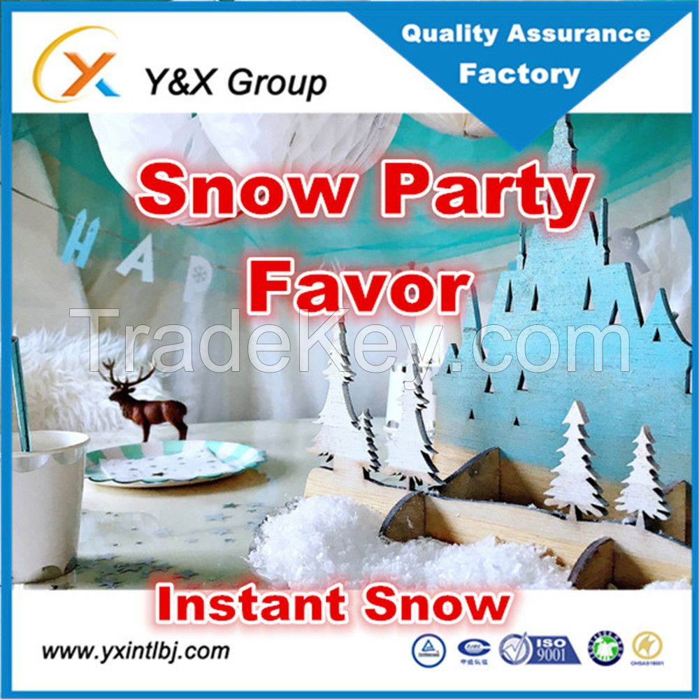 artificial magic instant fake snow