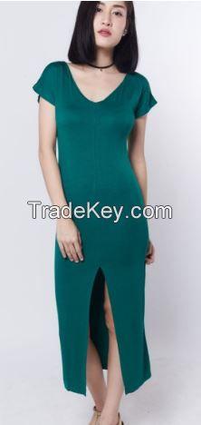 High Quality Cotton Fabric Women's Dresses