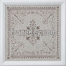 Artistic Aluminum Ceiling Panel with Silk Printing Pattern for Home Decoration