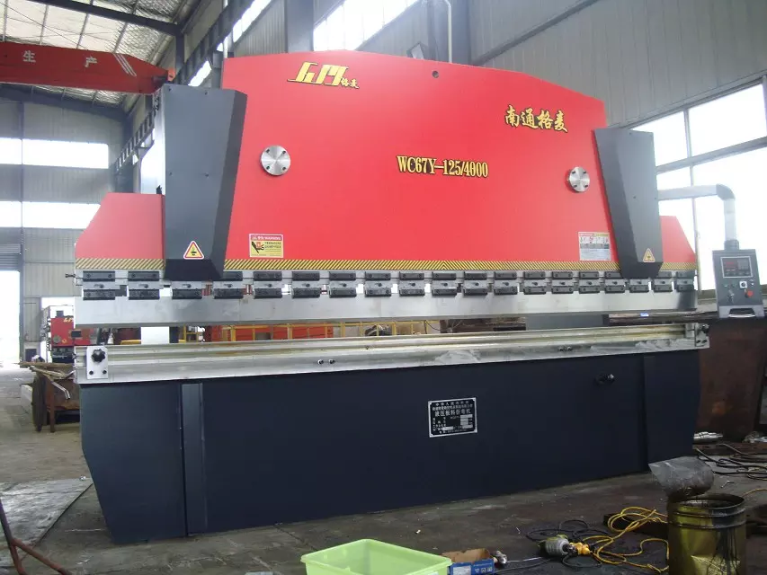 WC67Y 125T4000 Hydraulic Press Brake Machine