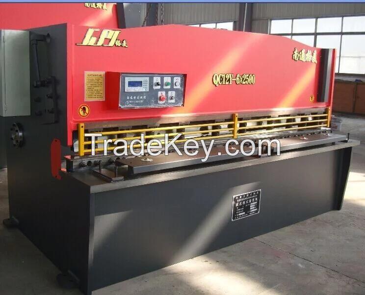 QC12Y 6X2500 Hydraulic Swing Beam Shearing Machine