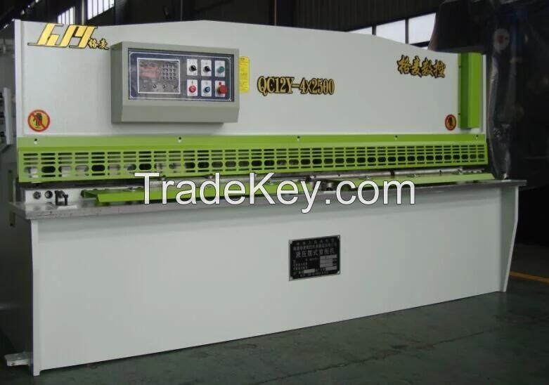 QC12Y 4X2500 Hydraulic Swing Beam Shearing Machine