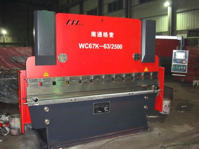 WC67Y 63T2500 Hydraulic Press Brake Machine