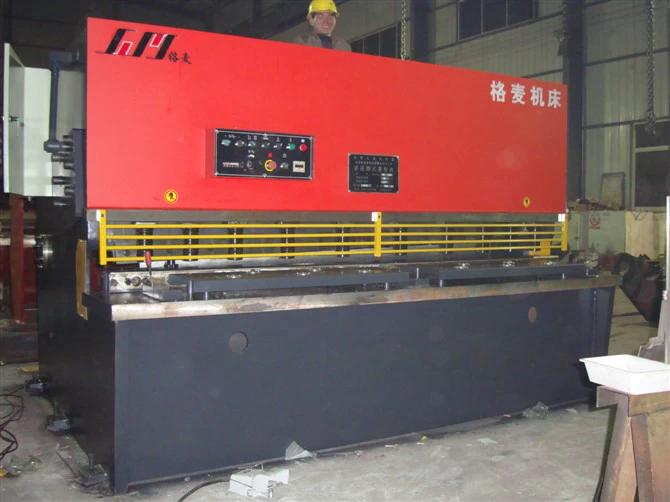 QC11Y 16X2500 Hydraulic Guillotine Shearing Machine