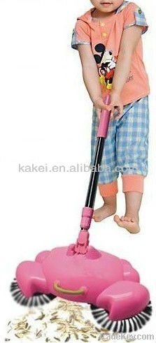 Childred Manual Operation Floor Cleaning Equipment Broom Cleaner
