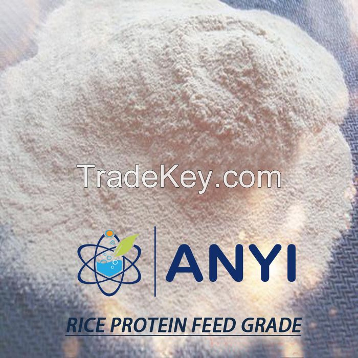 Feed protein 65% rice gluten meal