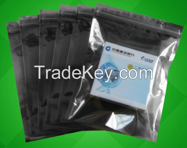 anti-static shielding bag, electronics packaging, zip-lock bag,anti-static packaging bags