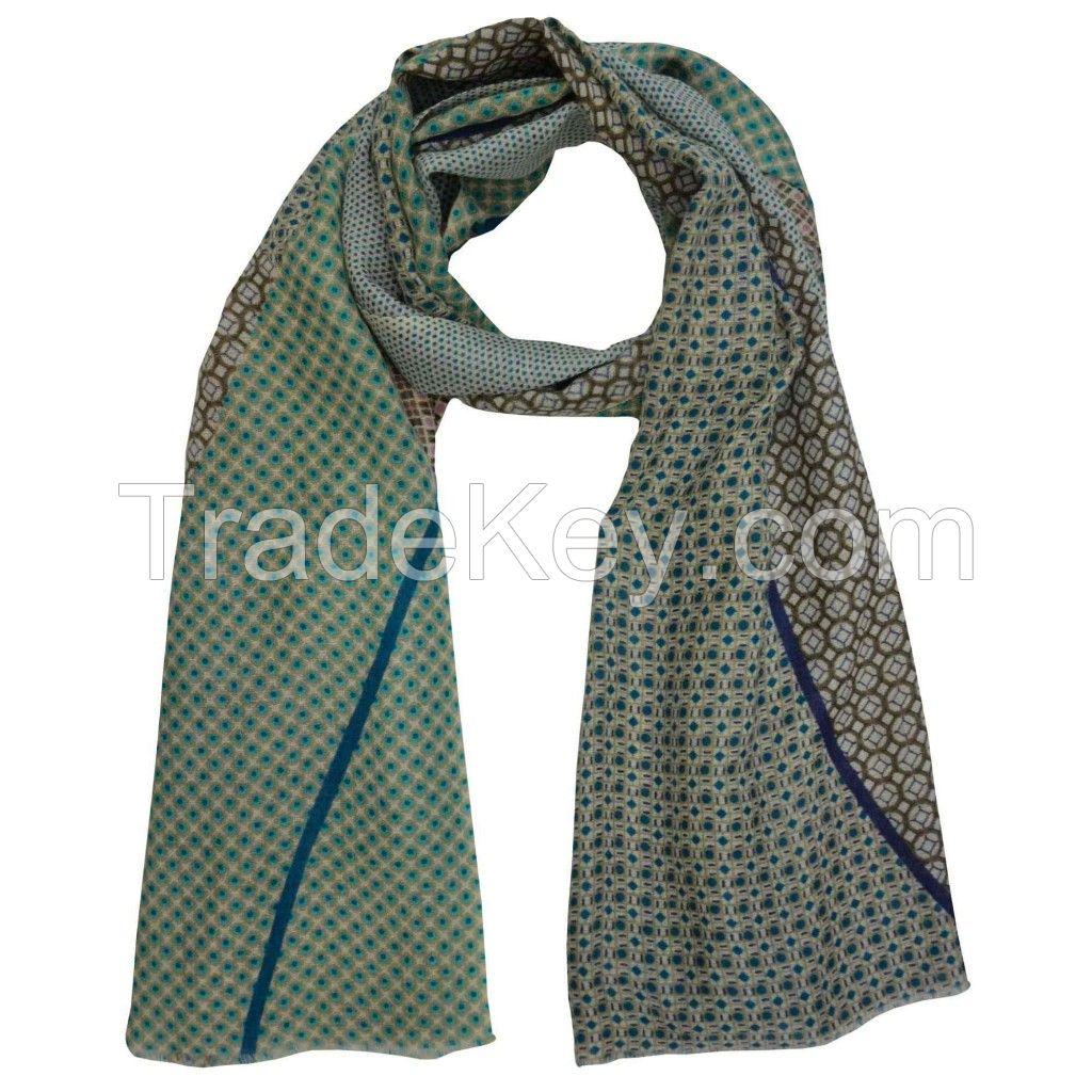 2 Lines Mint Scarves @ KrysdtallSoamas.com