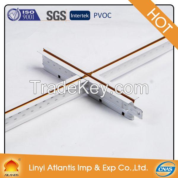 hot sale suspended ceiling t bar metal grid