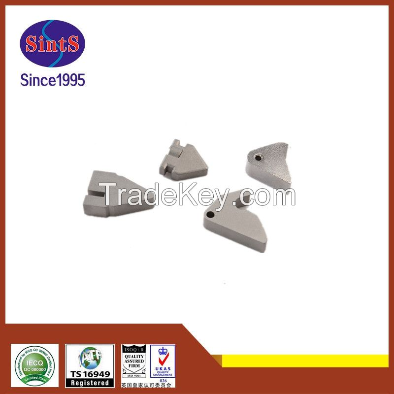 High precision custom-made metal injection molding door lock accessories from China MIM manufacturer