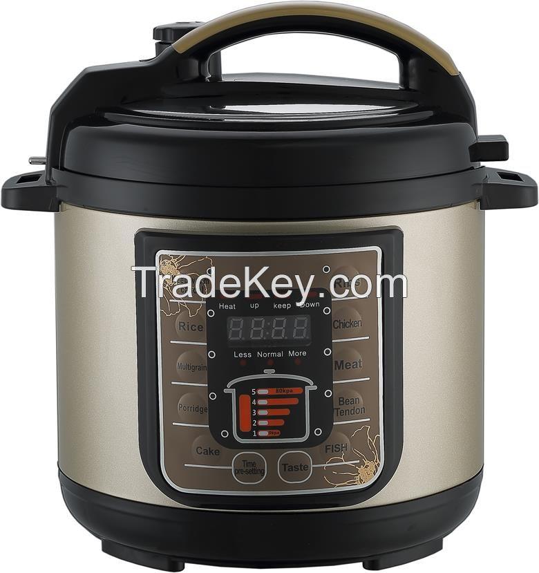 Multi-function Electric Pressure Cooker 2.5L mini