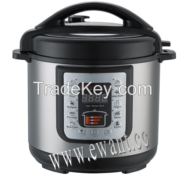 Electric pressure cooker 6 Quart Multi-function