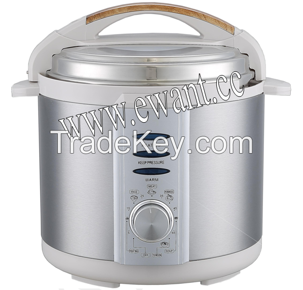 Multi-function Electric Pressure Cooker 4-6 Quart Mechanical style