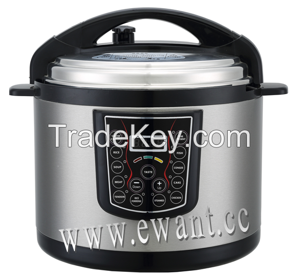Multi-function Electric Pressure Cooker 8-12 Quart Commercial use  Mechanical style