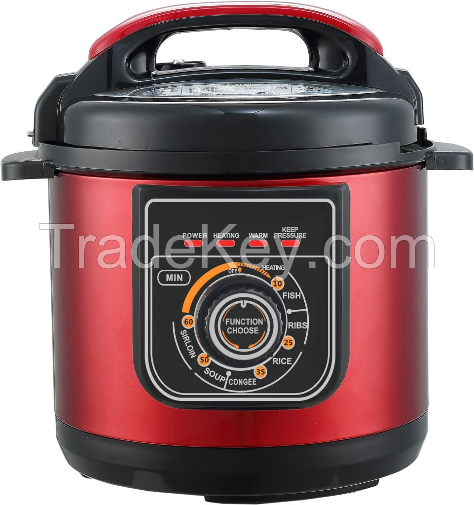Electric pressure cooker 6 Quart Multi-function Mechanical style