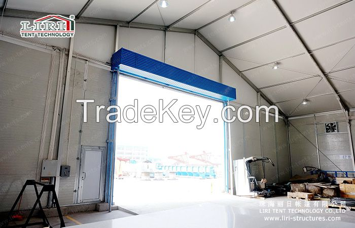 carpa nave estructura almacen bodega construccion aluminio industrial