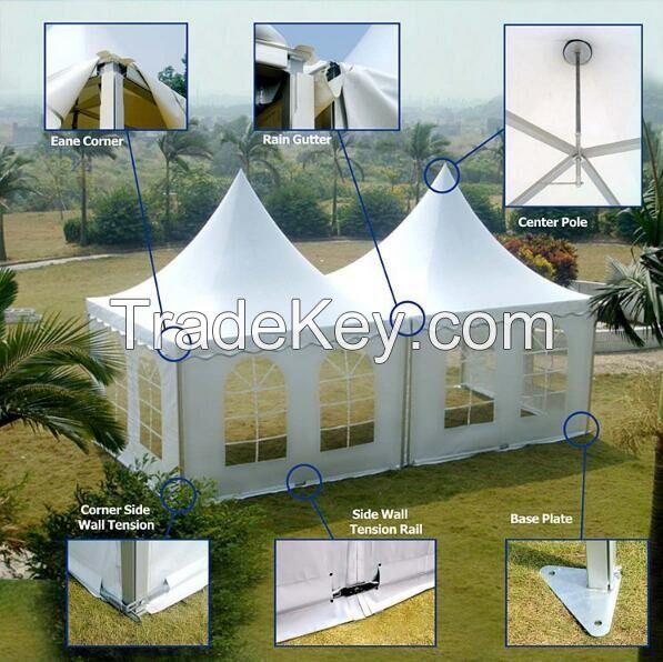 Small Pagoda Garden Tent for Outdoor Exhibition