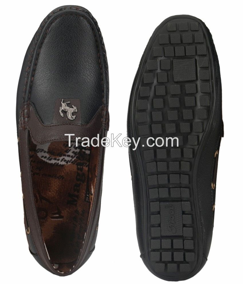 24 Carat Black Loafers