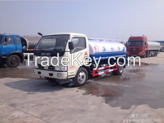 Sales of dongfeng sprinkler 5 tons