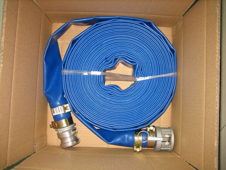 Flexible PVC Layflat Hose for Water Irrigation PVC Products