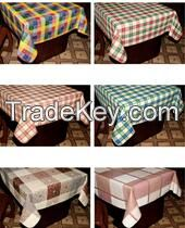waterproof non-woven table cloth with various colors and shapes