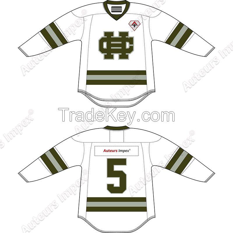 Custom Made Ice Hockey Uniforms
