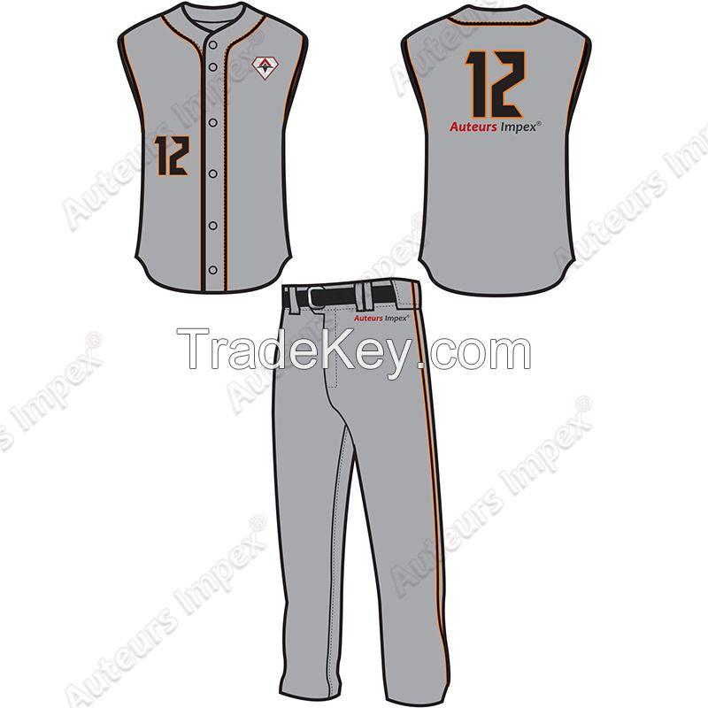 Custom Made Baseball and Softball Uniforms