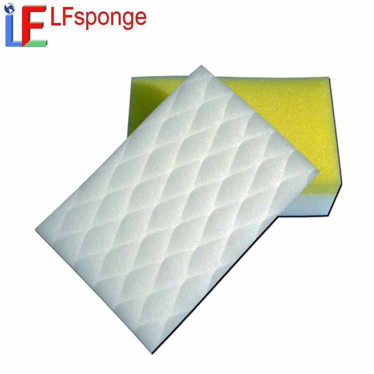 Eco Friendly Innovative Products PU Compound Melamine Foam lfsponge Dish Cleaning Sponge