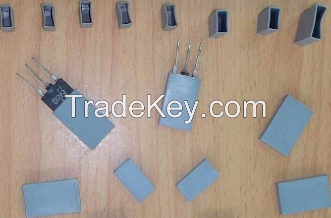 Triode Radiator Circuit Board Supporting Insulation Particles Transistors TO220