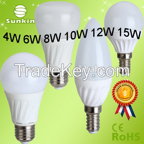 2016 hot sale C37 G45 e14 led candle bulb,candle led bulb,led light bulb from Ningbo China