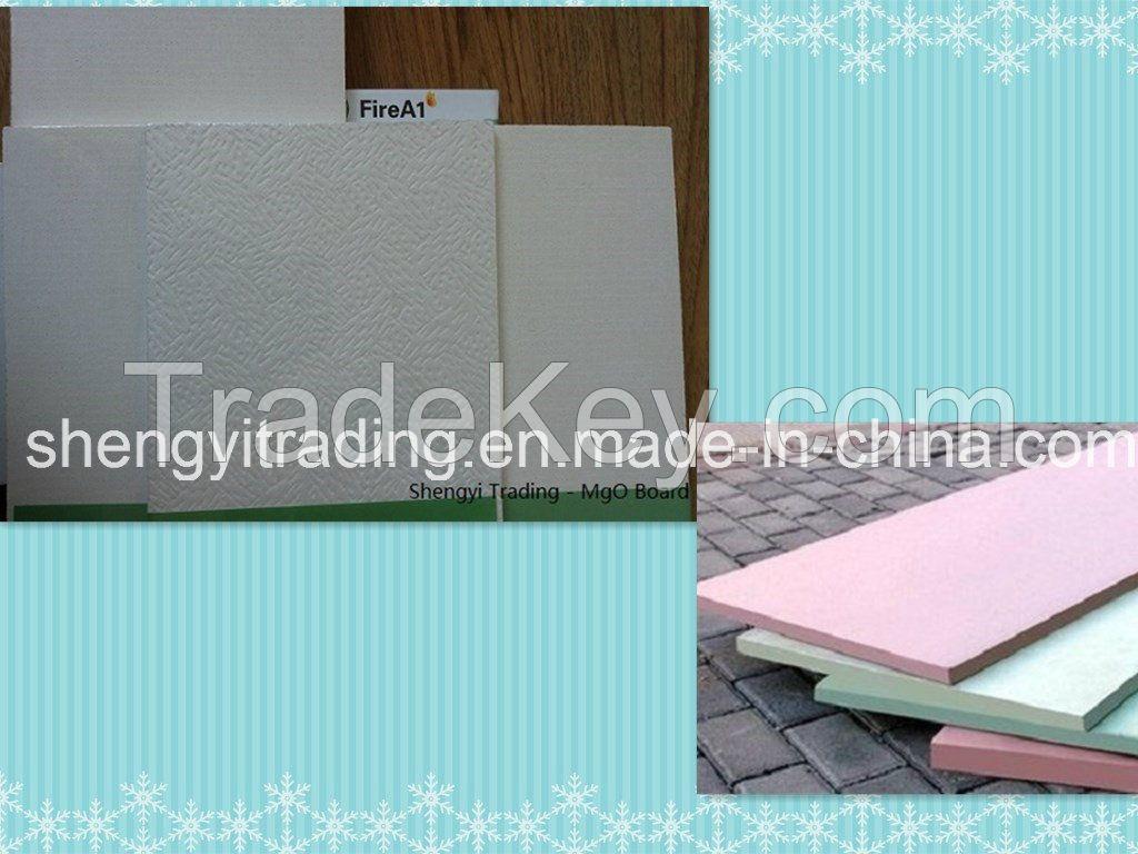 Class A1 Fireproof Magnesium Oxide Board/ MGO Board