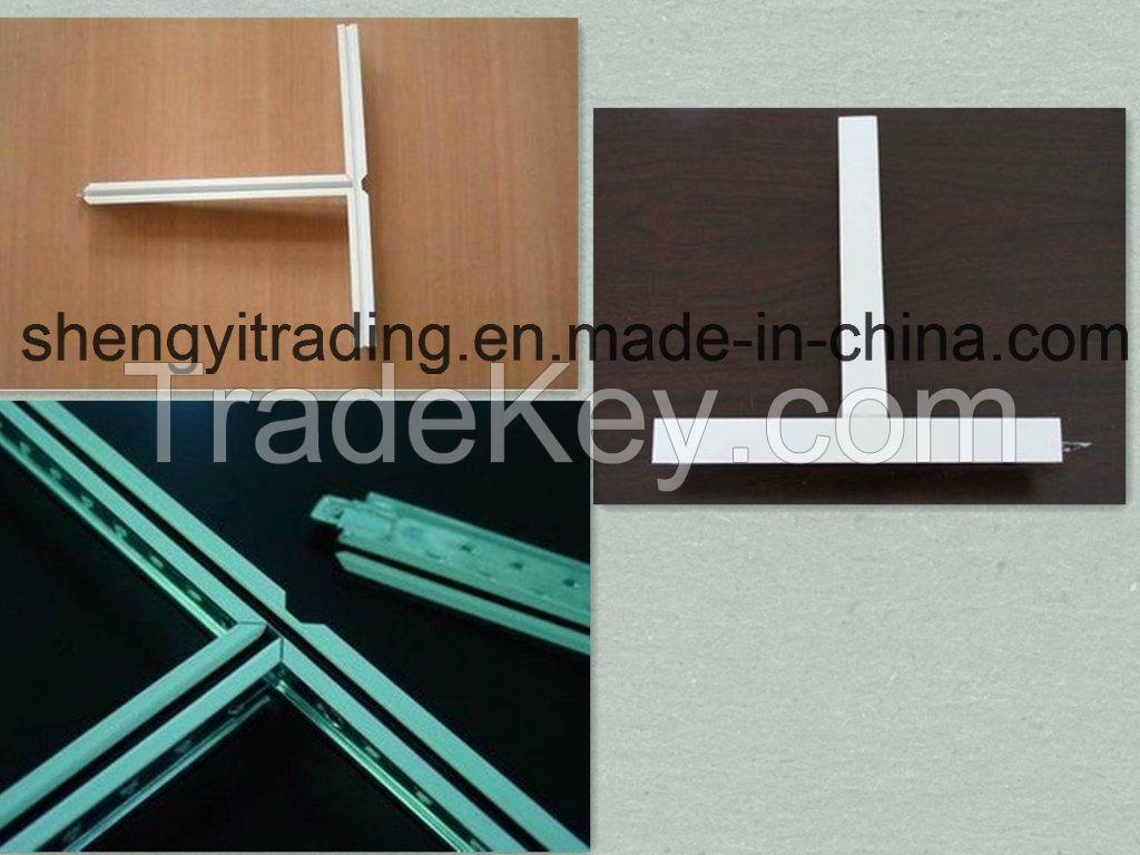 Ceiling Tee Grid for MGO Board/Mineral Fiber/Gypsum Ceiling (38H/32H)
