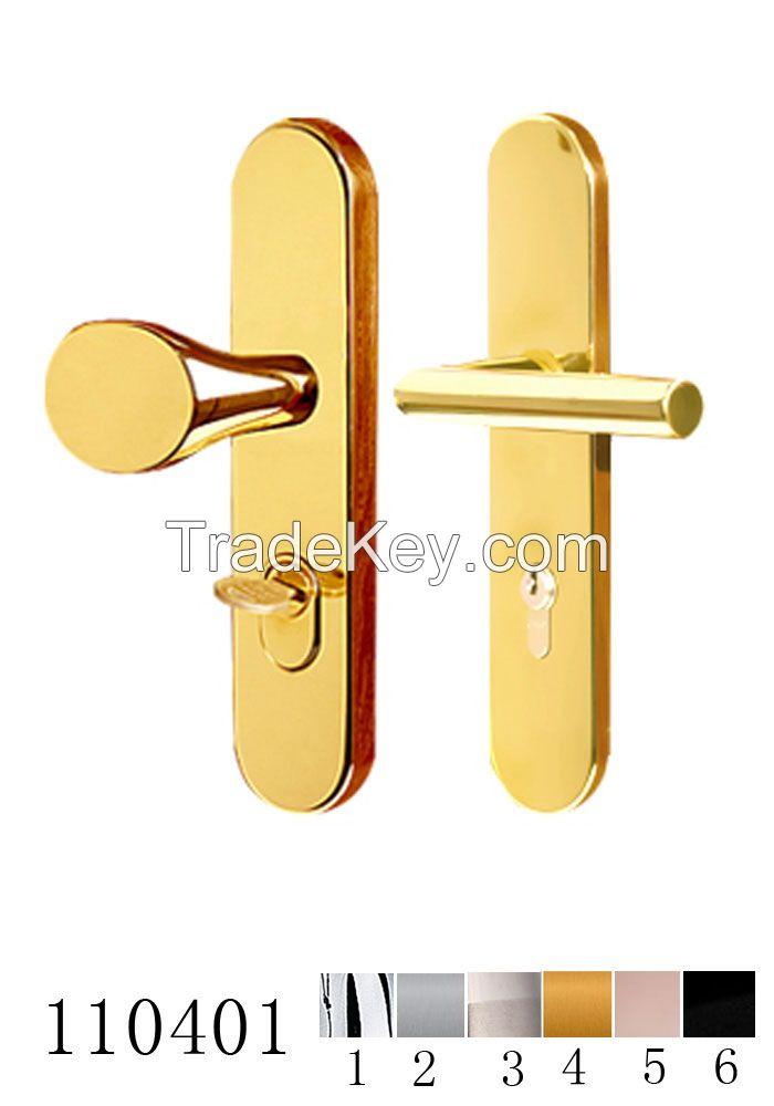 Security door handle