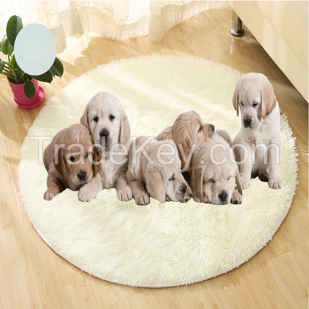 Fluffy pet mat