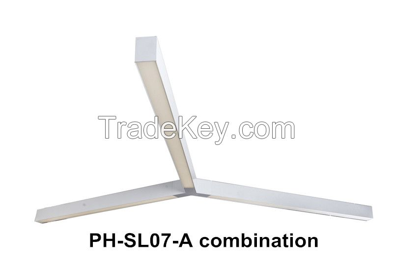 PingHao CE RoHS SAA approved high lumen pendant linear light